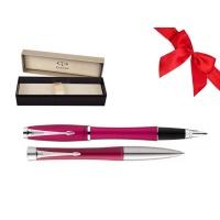 Zestaw Prezentowy Pióro + Długopis PARKER Urban Classic różowy CT w pudełku, Zestawy prezentowe, Artykuły do pisania i korygowania
