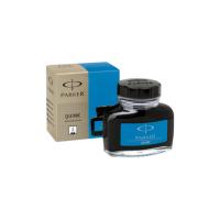 Atrament PARKER w buteleczce 57ml niebieski zmywalny, Pióra, Artykuły do pisania i korygowania