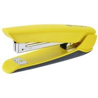 Zszywacz KANGARO Nowa-10/S, zszywa do 15 kartek, plastkowy, w pudełku PP, żółty, Zszywacze, Drobne akcesoria biurowe