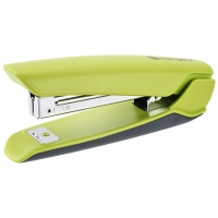 Zszywacz KANGARO Nowa-10/S, zszywa do 15 kartek, plastikowy, w pudełku PP, zielony, Zszywacze, Drobne akcesoria biurowe