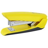 Zszywacz KANGARO Nowa-35/S, zszywa do 25 kartek, plastikowy, w pudełku PP, żółty, Zszywacze, Drobne akcesoria biurowe