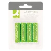 Baterie super-alkaliczne Q-CONNECT AA, LR06, 1,5V, 4szt.
