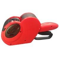Metkownica PRINTEX Smart, dwurzędowa, 16 znaków, czerwona, Metkownice, Urządzenia i maszyny biurowe