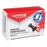 Pinezki beczułki OFFICE PRODUCTS, 100szt., mix kolorów, Promocje, ~ Nagrody