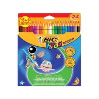 Kredki BIC Evolution, ołówkowe, 24 kol., Plastyka, Artykuły szkolne