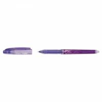 Pióro żelowe, PILOT Frixion Point, wymazywalne, 0, 5 mm, fioletowe, Cienkopisy, pióra kulkowe, Artykuły do pisania i korygowania