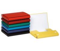 Teczka z rzepem OFFICE PRODUCTS, PP, A4/4cm, 3-skrz., mix kolorów, Teczki przestrzenne, Archiwizacja dokumentów