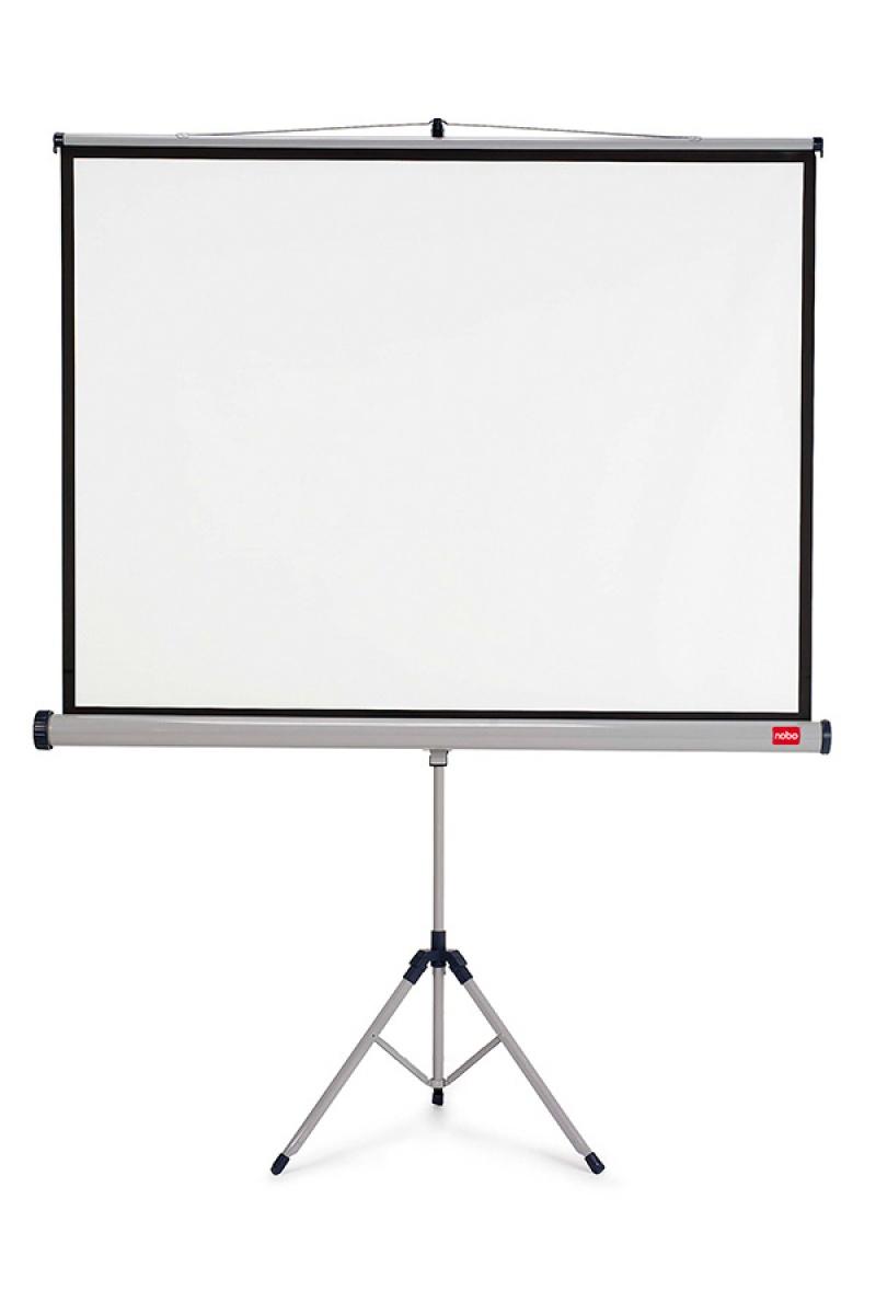 Ekran projekcyjny NOBO, na trójnogu, 4:3,2000x1513mm, biały