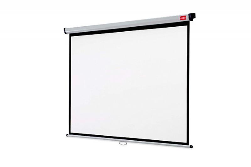 Ekran projekcyjny NOBO, ścienny, 4:3,1750x1325mm, biały