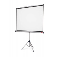 NOBO projection screen on tripod, professional, 16:10, 1500x1000mm, white