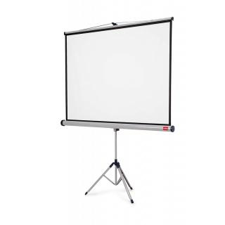 Ekran projekcyjny NOBO, na trójnogu, profesjonalny, 16:10,1500x1000mm, biały