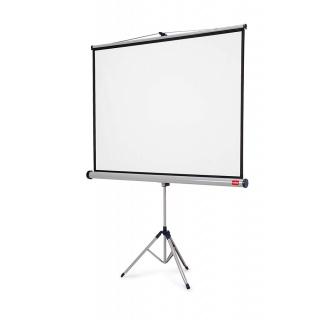 Ekran projekcyjny NOBO, na trójnogu, profesjonalny, 16:10,1750x1150mm, biały