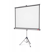 NOBO projection screen on tripod, professional, 16:10, 2000x1310mm, white