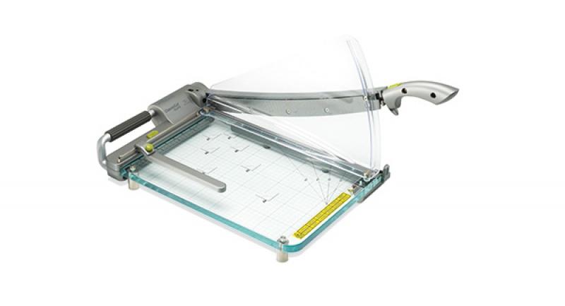 Gilotyna do papieru REXEL ClassicCut CL410 A4, dł. cięcia 39cm, srebrna, Przycinarki i gilotyny, Urządzenia i maszyny biurowe