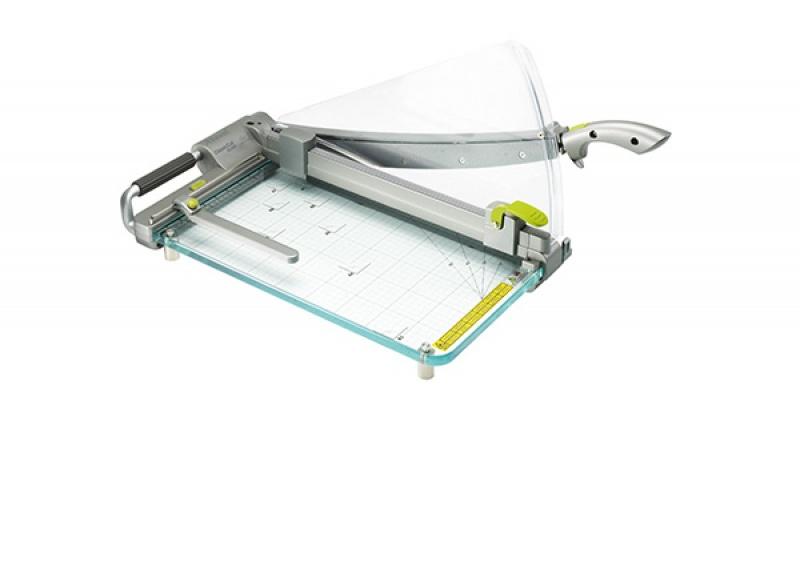 Gilotyna do papieru REXEL ClassicCut CL420 A3, dł. cięcia 46cm, srebrna, Przycinarki i gilotyny, Urządzenia i maszyny biurowe