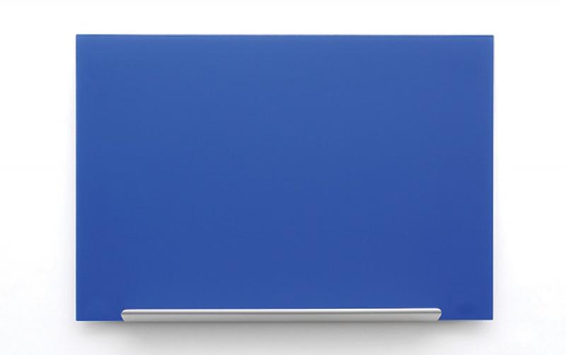 Tablica suchoś. -magn. NOBO Diamond, 126,4x71,1cm, szklana, niebieska, Tablice suchościeralne, Prezentacja