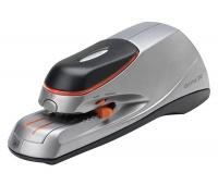 Zszywacz elektryczny REXEL Optima 20, zszywa do 20 kartek, srebrno-czarny, Zszywacze, Drobne akcesoria biurowe