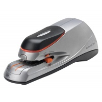 Electric stapler, REXEL Optima 20, staples up to 20 sheets, silver-black