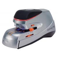 Zszywacz elektryczny REXEL Optima 70, zszywa do 70 kartek, srebrno-czarny, Zszywacze, Drobne akcesoria biurowe