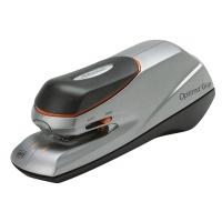 Zszywacz elektryczny REXEL Optima Grip, zszywa do 20 kartek, srebrno-czarny, Zszywacze, Drobne akcesoria biurowe