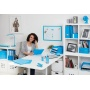Zszywacz REXEL Gazelle Joy, zszywa do 25 kartek, blissful blue, Zszywacze, Drobne akcesoria biurowe