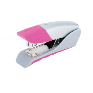 Zszywacz REXEL Gazelle Joy, zszywa do 25 kartek, pretty pink, Zszywacze, Drobne akcesoria biurowe