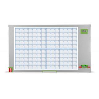 Planer miesięczny NOBO Performance Plus, suchoś. -magn., 104x60cm, Planery, Prezentacja