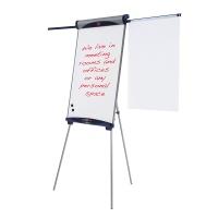 Flipchart na trójnogu NOBO Classic (Shark), 68,5x100cm, tablica suchoś. -magn., z wyciąganymi ramionami, Flipcharty, Prezentacja