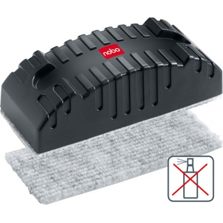 Wkłady do gąbki NOBO, 10szt., Bloki, magnesy, gąbki, spraye do tablic, Prezentacja