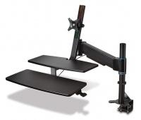 Miejsce do pracy KENSINGTON SmartFit®, na siedząco lub stojąco, czarny, Ergonomia, Akcesoria komputerowe