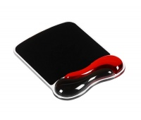 mouse pad, KENSINGTON Duo Gel, red-black