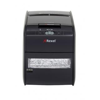Niszczarka automatyczna REXEL Auto+ 60X, konfetti, P-3, 60 kart., 15l, karty kredytowe, czarna, Niszczarki, Urządzenia i maszyny biurowe