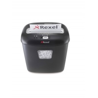 Niszczarka REXEL Duo, konfetti, P-3, 10 kart., 17l, karty kredytowe/CD, czarna, Niszczarki, Urządzenia i maszyny biurowe