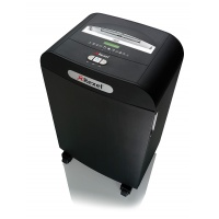 Niszczarka REXEL Mercury RDS2270, paski, P-2, 22 kart., 70l, karty kredytowe/CD, czarna, Niszczarki, Urządzenia i maszyny biurowe