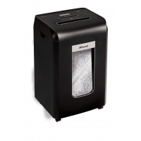 Niszczarka REXEL Promax RSX1538, konfetti, P-4, 15 kart., 38l, karty kredytowe/CD, czarna, Niszczarki, Urządzenia i maszyny biurowe