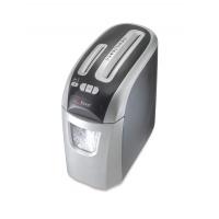 Niszczarka REXEL Prostyle+ 12, konfetti, P-4, 12 kart., 20l, karty kredytowe/CD, srebrno-czarna, Niszczarki, Urządzenia i maszyny biurowe