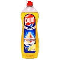 Płyn do mycia naczyń PUR Power Cytryna Extra, 900ml, Środki czyszczące, Artykuły higieniczne i dozowniki