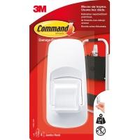 Hak wielokrotnego użytku COMMAND™ Jumbo (17004 PL), duży, biały, Haczyki, Prezentacja
