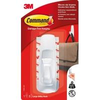 Hak wielokrotnego użytku COMMAND™ (17003 PL), duży, biały, Haczyki, Prezentacja
