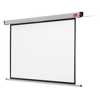 Ekran projekcyjny NOBO, ścienny, elektryczny, 4:3, 1600x1200mm, biały, Ekrany, Prezentacja