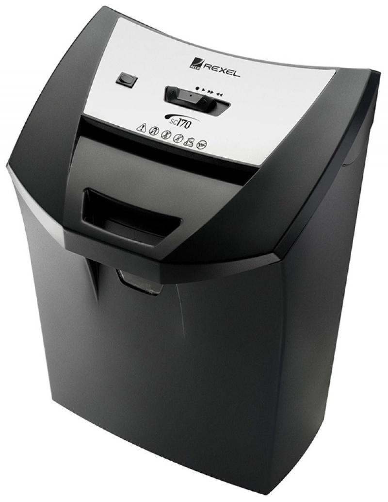 Niszczarka REXEL Officemaster SC170, paski, P-2, 13 kart., 22l, karty kredytowe, czarna, Niszczarki, Urządzenia i maszyny biurowe