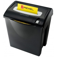 Niszczarka REXEL V120, paski, P-2, 12 kart., 35l, karty kredytowe, czarna, Niszczarki, Urządzenia i maszyny biurowe