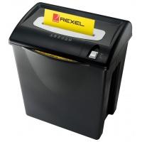 Niszczarka REXEL V125, konfetti, P-4, 7 kart., 35l, karty kredytowe, czarna, Niszczarki, Urządzenia i maszyny biurowe