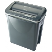 REXEL Silencio V30WS shredder, strips, P-2, 8 sheets, 18 l, black