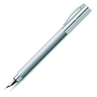 Pióro wieczne Faber-Castell Ambition Metal F, Pióra wieczne, Przybory do pisania i korygowania