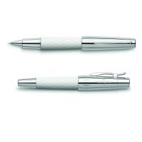 Pióro kulkowe Faber-Castell E-Motion Rhombus White, Pióra kulkowe, Przybory do pisania i korygowania