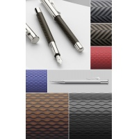 Ołówek Graf von Faber-Castell Guilloche Black, Ołówki, Przybory do pisania i korygowania