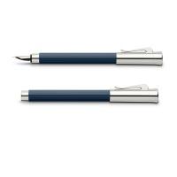 Pióro wieczne Graf von Faber-Castell Tamitio Night Blue, Pióra wieczne, Przybory do pisania i korygowania