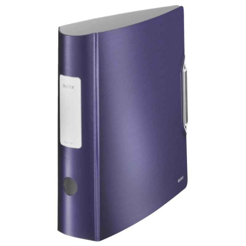 Segregator Leitz 180° Active Style, 75mm, niebieski, Segregatory, Archiwizacja dokumentów