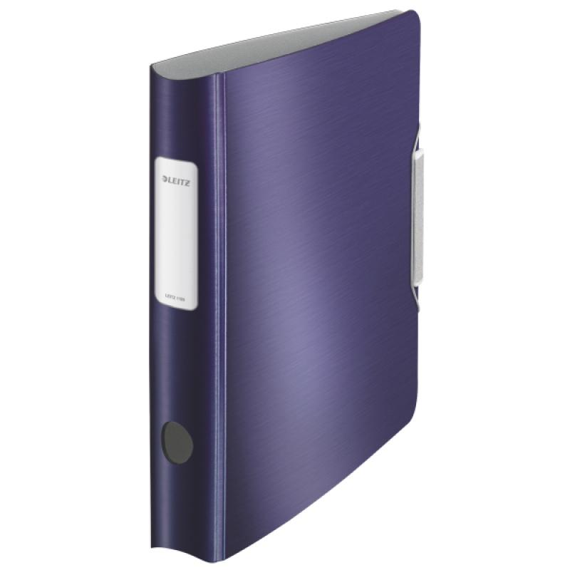 Segregator Leitz 180° Active Style, 50mm, niebieski, Segregatory, Archiwizacja dokumentów